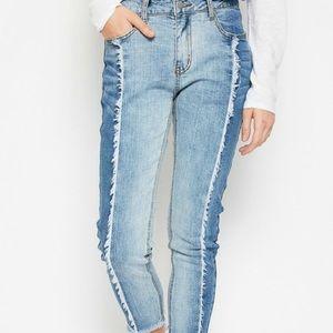 Hayden two toned jeans s